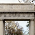 The grand entrance into the park.- Vicksburg National Military Park