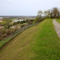 From this park overlook, visitors can see the Mississippi River and learn how it played an important role in the Battle of Vicksburg.- Vicksburg National Military Park