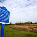 The large blue signs indicate Union positions.- Vicksburg National Military Park