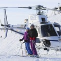 Heading home after a great day in the field. Photo credit: Sun Valley Heli Ski.- Sun Valley Heli Ski