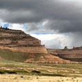 A view looking toward the north from Saddle Rock Trail.- Scottsbluff National Monument