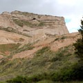 The Bluff stood as a landmark for people throughout the ages.- Scottsbluff National Monument