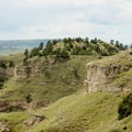 A lookout from the North Overlook Trail.- Scottsbluff National Monument