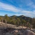 Sanitas from Anemone Ridge.- Anemone + Mount Sanitas Loop Trail