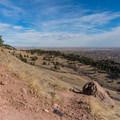 The alternate way down the Sanitas Valley Trail.- Anemone + Mount Sanitas Loop Trail