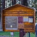 Park signage.- Kamiak Butte County Park