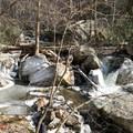 Hiking to Cascade Falls.- Cascade Falls