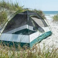 A peaceful spot in the dunes.- Bear Island Beach Campsites