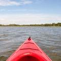 Approaching Huggins Island.- Huggins Island Water Trail