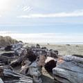 Whiskey Run Beach on the Oregon coast. - Whiskey Run Beach