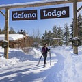 Off to enjoy a long day cross-country skiing on the tracks.- Galena Lodge Nordic Center
