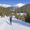 Galena is a great spot to ski for the day.- Galena Lodge Nordic Center