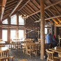Stop in to warm up and grab a bite or a beer!- Galena Lodge Nordic Center