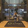 Entrance to the Limelight Hotel Ketchum.- The Limelight Hotel-Ketchum
