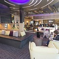 The lobby is a comfortable place to relax and enjoy a magazine or a drink at the bar.- The Limelight Hotel-Ketchum