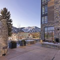 The slopes of Sun Valley beckon from the Limelight Hotel Ketchum.- The Limelight Hotel-Ketchum
