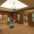 The Sun Valley Lodge reception area.- The Sun Valley Lodge
