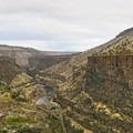 Crooked River from Otter Bench.- Otter Bench Loop Hike