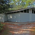 Campground showers and restrooms.- T. H. Stone Memorial St. Joseph Peninsula State Park Campground