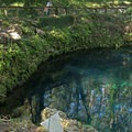 Deep spring waters.- Madison Blue Springs