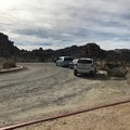 The parking lot for the Boy Scout and Willow Hole trailheads.- Willow Hole