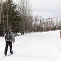 The trails are open for skate skiing and traditional Nordic cross-country.- Sun Valley Nordic Center