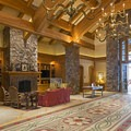 The Sun Valley Club lobby.- Sun Valley Nordic Center