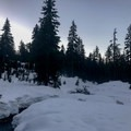 First Lake.- Dog Mountain Snowshoe
