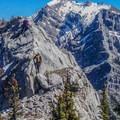 Looking toward Grotto Peak.- Mount Lady MacDonald: East Southeast Ridge