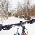Riding the Durrance Loop.- Durrance Loop Fat Bike