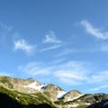 Vantage ridge from a distance.- Vantage Peak