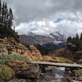 Looking toward seldom visited eastern Banff.- Mosquito Creek