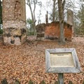 Ruins of the sugar mill.- Fontainebleau State Park