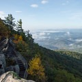 On a clear day you can see nearly 100 miles.- Blowing Rock