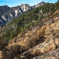 Summt views from Mount Wilson.- Mount Wilson via Mount Wilson Trail