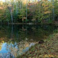 Raymond Fisher Pond.- Raymond Fisher Campsites