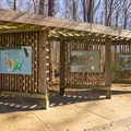 Informative panels found next to the visitor center. - Tensas River National Wildlife Refuge