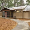 The cozy campground bathhouse. - South Toledo Bend State Park Campground