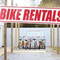 The Shack de Ville at the Mandeville Trailhead offers bicycle rentals for those looking to get onto the Trace.- Tammany Trace