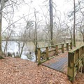 The trail passes along the Calcasieu West Fork, with a couple of small bridges over creeks that empty into the river.- Stagecoach Trail