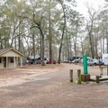 Dump stations are located in Camp Area 2.- Sam Houston Jones State Park Campground