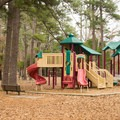 Kids will enjoy this playground. - Chemin-A-Haut State Park