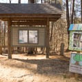 A book exchange can be found near the cabins!- Lake D'Arbonne State Park Campground
