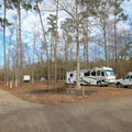 There are two main camping areas, both of which tend to have little space between neighboring sites.- Fontainebleau State Park Campground
