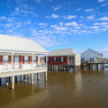 Rentable cabins in a beautiful setting over Lake Pontchartrain.- Fontainebleau State Park Campground