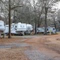 Large RV sites with varying amenities sit throughout the campground's loops.- Frenchman's Wilderness Campground
