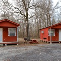Rental cabins are available.- Frenchman's Wilderness Campground