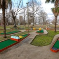 The campground has two playgrounds and a mini golf course.- Frenchman's Wilderness Campground