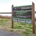 The Blue Goose Trail is a part of Sabine Wildlife Refuge.- Blue Goose Nature Trail