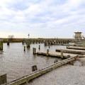 Crabbing and fishing at the East End Boat Locks in the wildlife refuge.- Rockefeller Wildlife Refuge